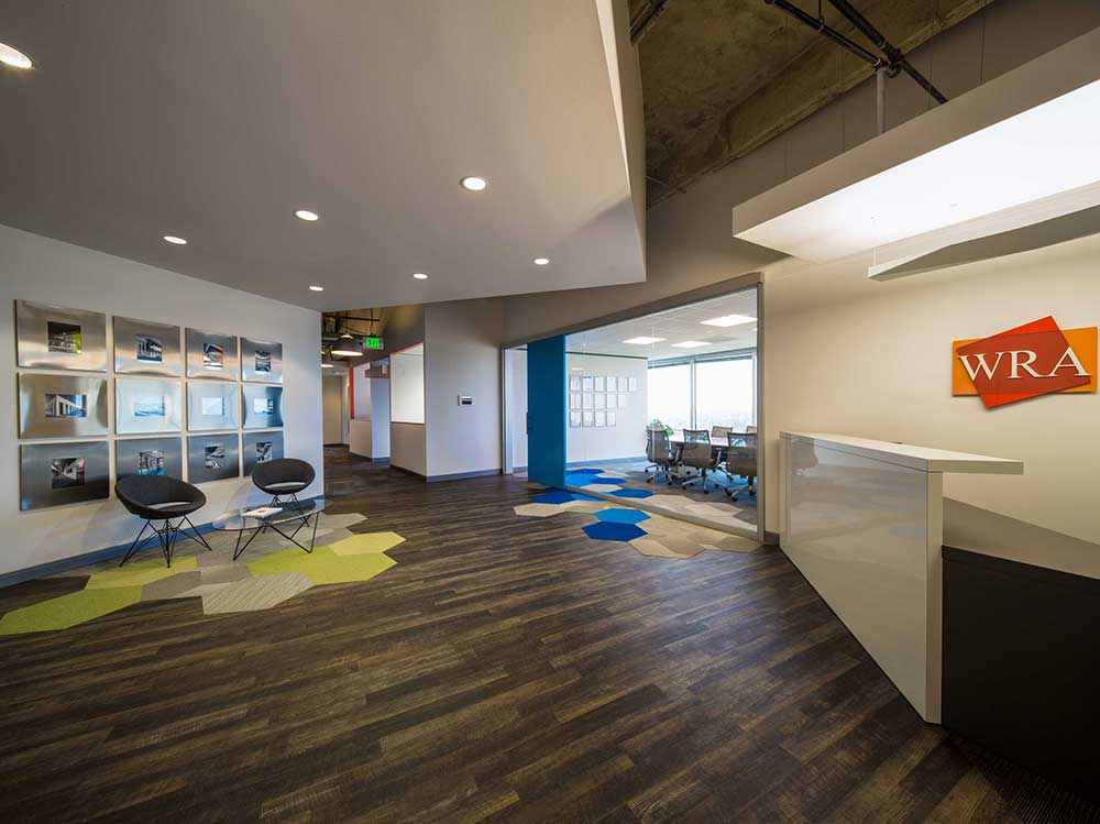 Office reit and class a leasing of corporate centers in for Interior design staffing agency chicago
